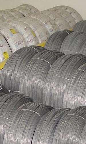 Arame de aço para fabricação de molas