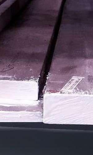 Barra quadrada de aço inox
