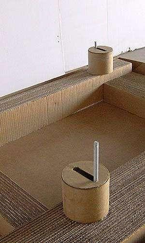 Calço de papelão ondulado