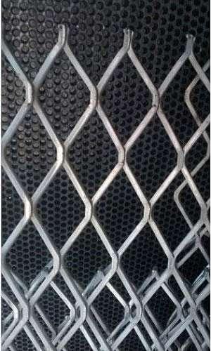Chapa de aço carbono expandida