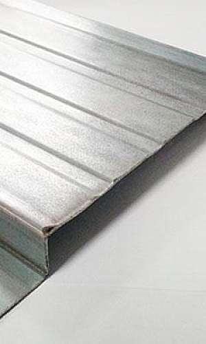 Chapa de aço galvanizada em sp