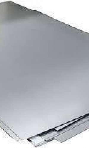 Chapa de aço galvanizado 1mm