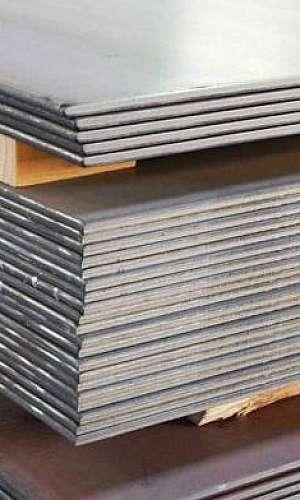 Chapa de ferro aço carbono