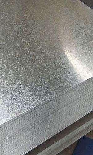 Chapa de ferro galvanizado