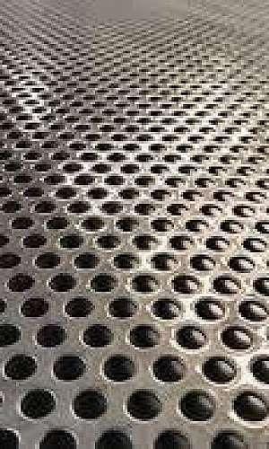 Chapa perfurada aço carbono preço
