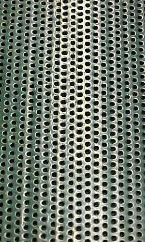 Chapas perfuradas de aço inox