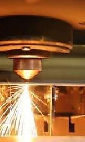Corte a laser chapa inox