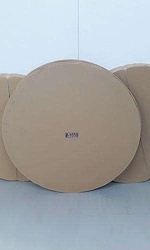 Disco de papelão ondulado