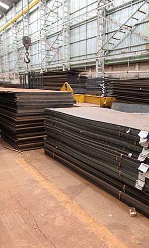Distribuidores de chapas de aço carbono