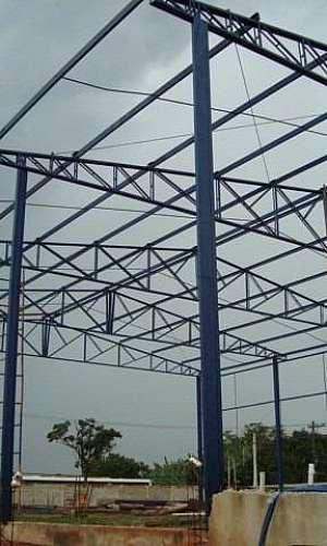 Estruturas metálicas preço m2