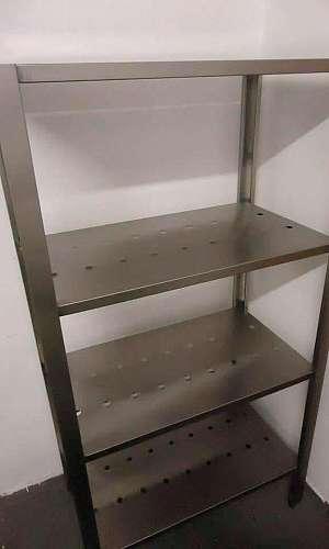 Fábrica de estante inox