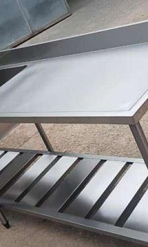 Fabricante de mesa inox