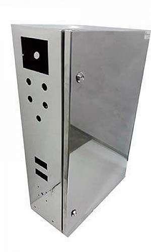 Fabricante de quadro de comando em aço inox