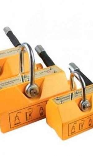 Levantador magnético para chapas finas