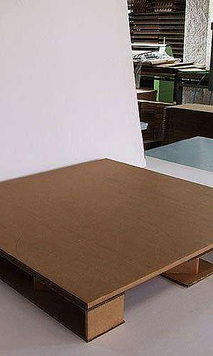Paletes de papelão ondulado