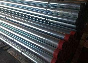 Tubo de aço galvanizado 4 polegadas
