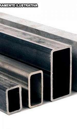 tubo de aço retangular